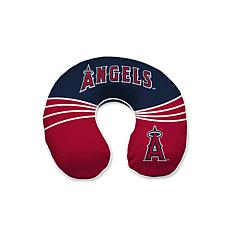 Officially Licensed MLB Memory Foam U-Neck Travel Pillow - Angels