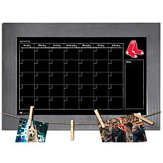 Officially Licensed MLB Monthly Chalkboard - Boston Red Sox