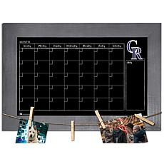 Officially Licensed MLB Monthly Chalkboard - Colorado Rockies