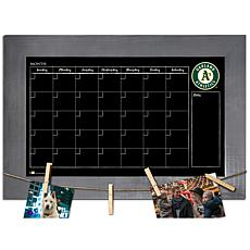 Officially Licensed MLB Monthly Chalkboard - Oakland Athletics