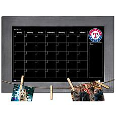 Officially Licensed MLB Monthly Chalkboard - Texas Rangers