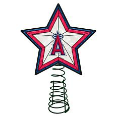 Officially Licensed MLB Mosaic Tree Topper - Angels