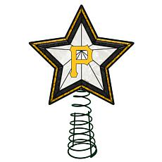 Officially Licensed MLB Mosaic Tree Topper - Pirates