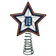Officially Licensed MLB Mosaic Tree Topper - Tigers