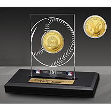 Officially Licensed MLB New York Yankees Champions Acrylic Gold Coin
