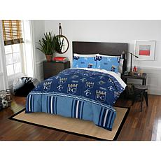 Officially Licensed MLB Queen Bed in a Bag Set - Kansas City Royals
