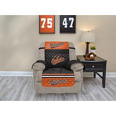 Officially Licensed MLB  Recliner Furniture Protector - Orioles
