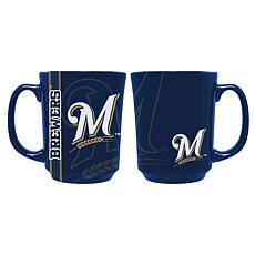 Officially Licensed MLB Reflective Mug - Milwaukee Brewers