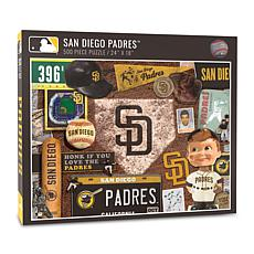 Officially Licensed MLB San Diego Padres Retro Series 500-Piece Puzzle