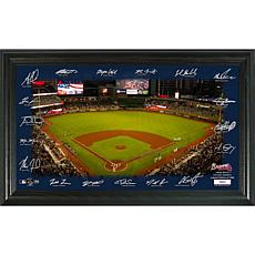 Officially Licensed MLB Signature Field Limited Edition Frame - Bra...