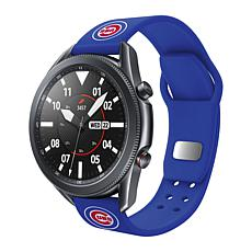 Officially Licensed MLB Silicone Sports Band for Samsung Watch - Cubs