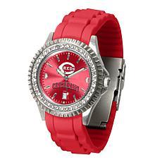 Officially Licensed MLB Sparkle Series Watch - Cincinnati Reds