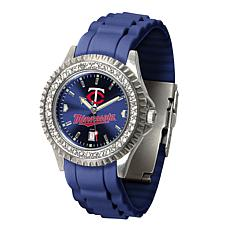 Officially Licensed MLB Sparkle Series Women's Watch - Minnesota Twins