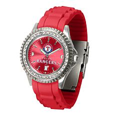 Officially Licensed MLB Sparkle Series Women's Watch - Texas Rangers