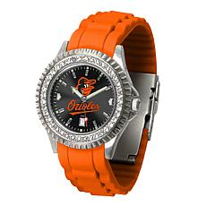 Officially Licensed MLB Sparkle Women's Watch - Baltimore Orioles Bird