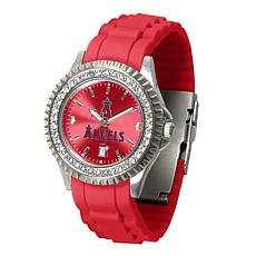 Officially Licensed MLB Sparkle Women's Watch - Los Angeles Angels