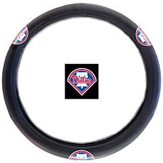 Officially Licensed MLB Steering Wheel Cover - Phillies