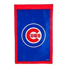 Officially Licensed MLB Team Logo House Flag - Chicago Cubs