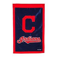 Officially Licensed MLB Team Logo House Flag - Cleveland Indians