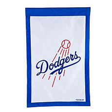 Officially Licensed MLB Team Logo House Flag - Los Angeles Dodgers