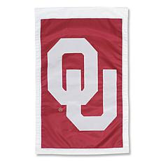 Officially Licensed MLB Team Logo House Flag - University of Oklahoma