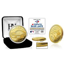 Officially Licensed MLB Toronto Blue Jays Stadium Gold Mint Coin