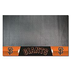 Officially Licensed MLB Vinyl Grill Mat  - San Francisco Giants