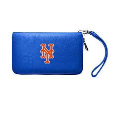 Officially Licensed MLB Zip Organizer Wallet - New York Mets