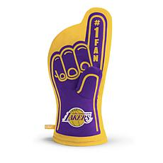 Officially Licensed NBA #1 Fan Oven Mitt - Los Angeles Lakers