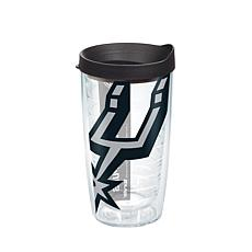 Officially Licensed NBA 16 oz Tumbler and Lid- San Antonio Spurs