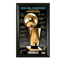 Officially Licensed NBA 2018 NBA Finals Signature Trophy Photo