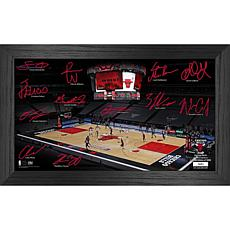 Officially Licensed NBA 2021 Signature Court - Chicago Bulls