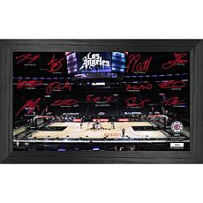 Officially Licensed NBA 2021 Signature Court - LA Clippers