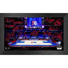 Officially Licensed NBA 2021 Signature Court - Philadelphia 76ers