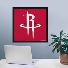 """Officially Licensed NBA 23"""" Felt Wall Banner - Houston"""