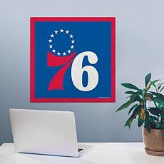 """Officially Licensed NBA 23"""" Felt Wall Banner - Philadelphia"""