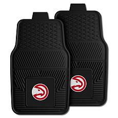 "Officially Licensed NBA 2pc Car Mat Set 17"" x 27"" - Atlanta Hawks"