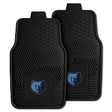 "Officially Licensed NBA 2pc Car Mat Set 17"" x 27"" - Memphis Grizzlies"