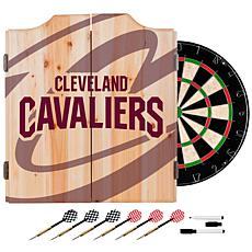 Officially Licensed NBA Dart Cabinet Set - Fade- Cleveland Cavaliers