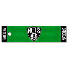 Officially Licensed NBA Putting Green Mat  - Brooklyn Nets