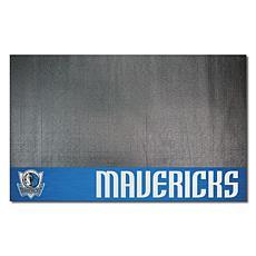 Officially Licensed NBA Vinyl Grill Mat  - Dallas Mavericks