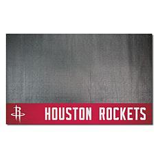 Officially Licensed NBA Vinyl Grill Mat  - Houston Rockets
