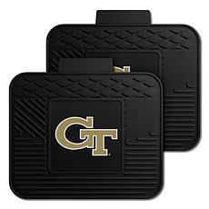Officially Licensed NCAA  2-pc Heavy Duty Vinyl Mat Set - Georgia Tech