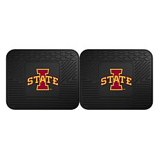 Officially Licensed NCAA  2-pc Heavy Duty Vinyl Mat Set - Iowa State