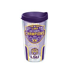 Officially Licensed NCAA  2019 National Champs 16oz. Tumbler w/Lid-LSU