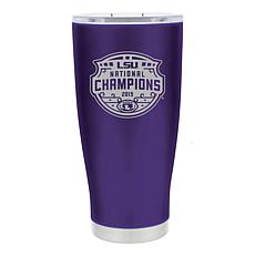 Officially Licensed NCAA 20oz. Etched Tumbler National Champs 2019