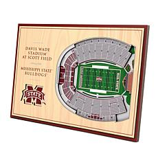 Officially Licensed NCAA 3-D Desktop Display - MS State Bulldogs