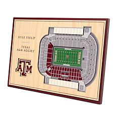 Officially Licensed NCAA 3-D Desktop Display - Texas A&M Aggies
