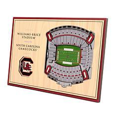 Officially-Licensed NCAA 3-D StadiumViews Display - SC Gamecocks
