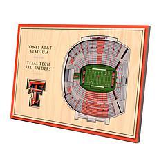Officially-Licensed NCAA 3-D StadiumViews Display - Texas Tech Raid...